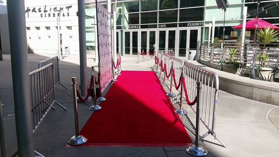My first Hollywood red carpet